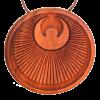 Amulett Engel Symbol Apfel