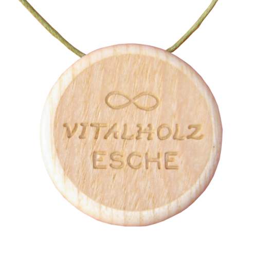 Amulett Same des Lebens Symbol Esche Hinten