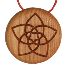 Amulett Venusblume Symbol Kirsche