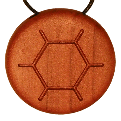 Amulett BeePoll Apfel Vorne