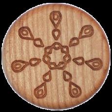 Vitalknopf Cleanser Symbol Kirsche