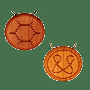 Amulett mit Blütenpollen Vorschaubild