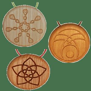 Amulett mit Kräuter Vorschaubild