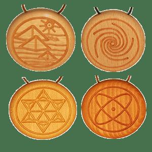 Amulett mit Quarz Vorschaubild