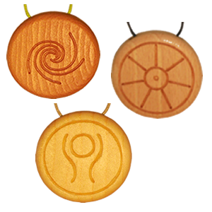 Amulett mit Salz Vorschaubild
