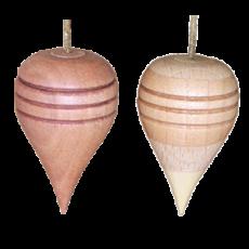 Pendel Holz befüllt mit Quarz