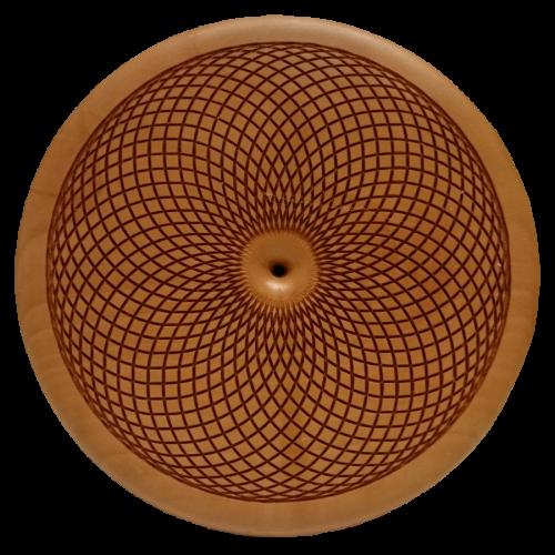 Vitalholz Torus Apfel Symbol