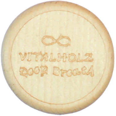 Vitalknopf Deep Breath Hinten