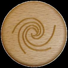 Vitalknopf Sea Symbol Buche