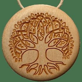 Amulett Holz Baum Ahorn